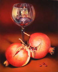 Pomegranate Wine (outdoorPDK) Tags: pomegranates