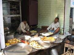 IMG_0749 (mani_arora118) Tags: india cooking sweets vrindavan mithai samose halwai