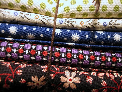 Fabric from Olivia!