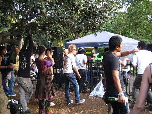 Toyko Rave Scene in the Park