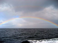 Rainbow on Monterey Bay
