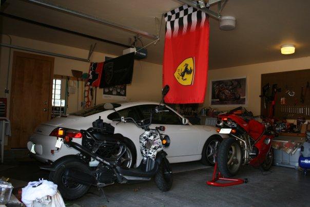 Fotos de garajes de porschistas SoloPorschecom