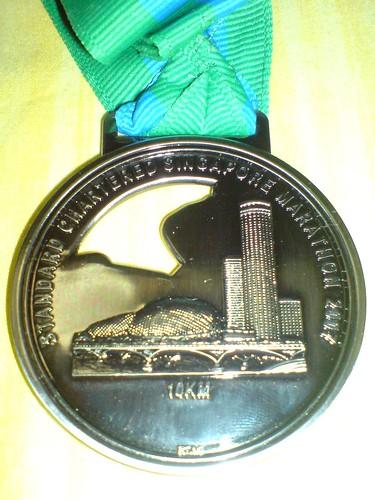 SCM 10km Medal