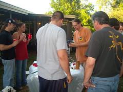 DSCN2177 (awinner) Tags: christmas friends party home bbq rotisserie pigroast cutting 2007 december2007 alexwinner 11543115thstreetlargofl33778