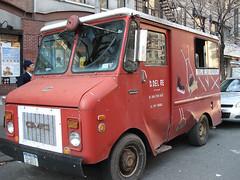 Grinder & Sharpener Guy's Truck (lisacat) Tags: nyc upperwestside sharpener uws