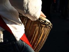 drummer (galit lub) Tags: street city people man israel jerusalem middleeast citylife bodylanguage demonstration strike