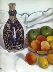 Natura morta particolare (superpralinix) Tags: stilllife fruits peinture frutta oiloncanvas naturamorta pittura