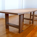 The Bryan Table in Wire Brushed White Oak