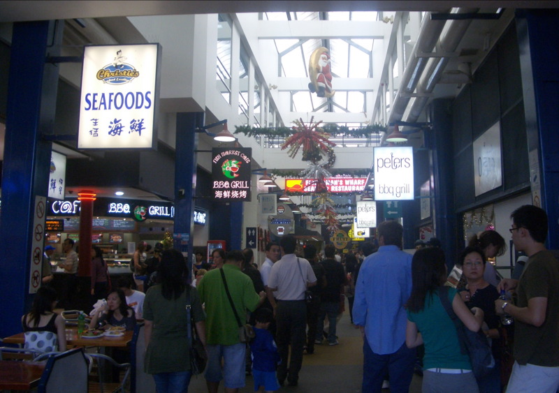 Sydney Fish Market interior
