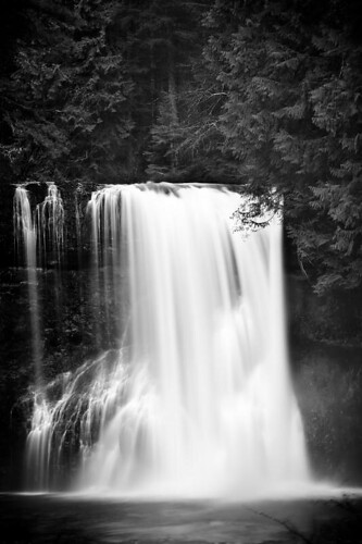 Rush Of Nature - Upper North Falls at Silver Falls State Park in Oregon