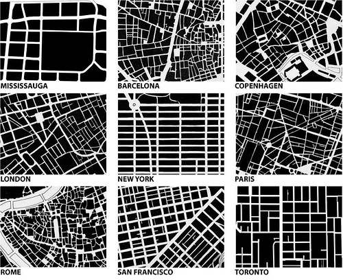 Image from Urban fabric/form comparison: Spacing Toronto / Michael Surtees