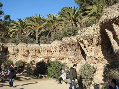 parque Gullel Barcelona