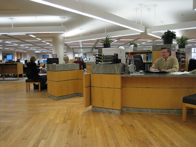 Reference Desk by COD Library