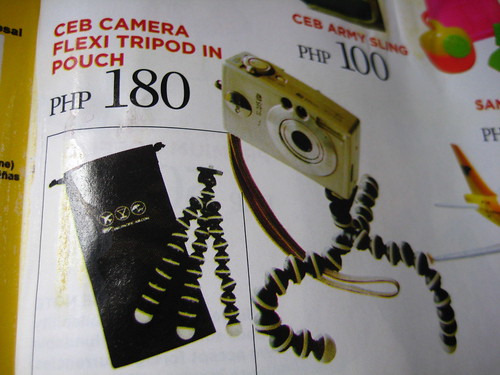 Php180 Gorillapod from Cebu Pacific