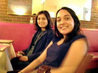Amisha and Nirali