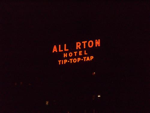 2008 allerton hotel tip top