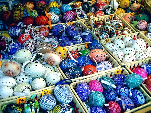Prague - Czech Easter Eggs