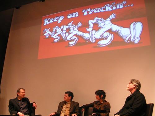 Comics Forum, R. Crumb's Underground, Frye Museum, 03/27/08