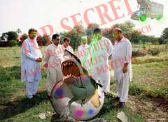 Pakistani Top Secret UFO Material (perfectlymadebirds) Tags: travel pakistan art speed star drive robot high ship tech space ufo aliens gravity desi pakistani starfleet spaceship planetary hyper anti intergalactic naan ufos punjabi galactic pathan salwar spaceage kameez awesom dhol pathans dast perfectlymadebirds zabber