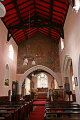Church Lench, Worcestershire, All Saints. (Tudor Barlow) Tags: england spring churches worcestershire 1854 preedy parishchurch churchinteriors tamron1750 frederickpreedy churchlench