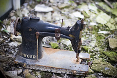 Sewing machine (Richard-James) Tags: abandoned cane hospital decay hill medical singer ward sewingmachine lunatic asylum derelict croydon wards decaying ue mental coulsdon urbex canehill