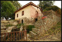 / water mill, Evrychou village (-Filippos-) Tags: old building mill traditional culture cyprus vilage      92007  evrychou