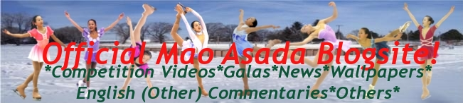 Official Mao Asada Blog!
