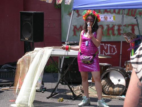Athena Barat, the hostess and organizer