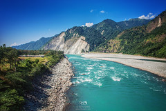 Beautiful Turquoise waters of Lohit river at Parshuram Kund (Color Odyssey) Tags: travel travelphotography river riverscape roadtrip mountains adventure arunachal landscape landscapephotography nature northeastindia turquoise water wild lohit india photography