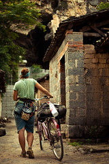 The Approach or The Getaway (kaare.iverson) Tags: china travel bike sport rock delete10 delete9 delete5 delete2 climb dof delete6 delete7 yangshuo save3 delete8 delete3 save7 delete delete4 save save2 climbing save4 limestone deleted save5 save6 approach hannahroy
