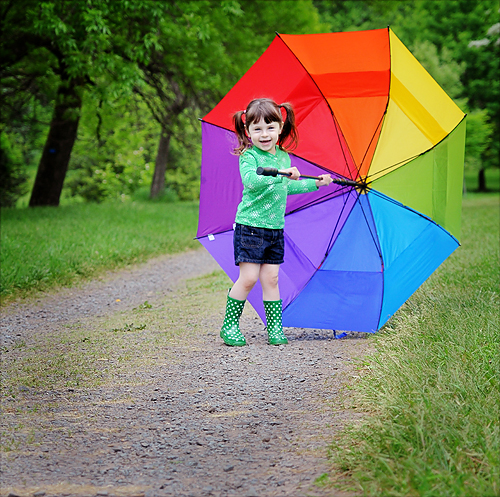 """The way I see it, if you want the rainbow, you gotta put up with the rain.""  ~Dolly Parton"
