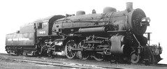 Historic Photo!  A New York Central Railroad class K 11   4-6-2 Pacific type passenger steam locomotive.
