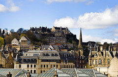 Stirling rooftops and Castle (j howie) Tags: castle rooftops stirling