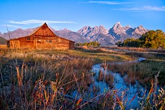IMG_8640-Edit-J Prince.jpg (princer7) Tags: mormon row barn barns grand teton national park jackson hole wyoming wy homestead historic landscape andy chambers ta moulton john farms farm building buildings settlement field fields joseph eggleston albert gunther henry may thomas murphy george riniker antelope flats moose kelly bison tetons mountains mountain range blacktail butte farming grovont community register registry historical place places service district pioneer american united states america most famous photographed world morning light september october fall season alma feelingscolour