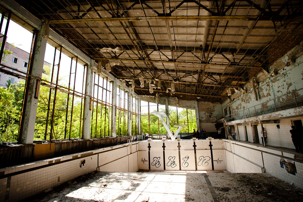 Chernobyl: Wide pool