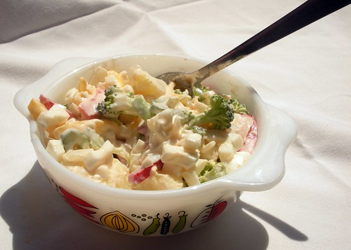 Slimmed Down Broccoli Potato Salad