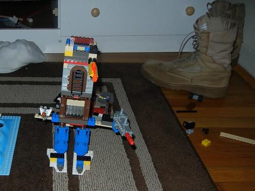 May 15 2011 Clark's lego robot