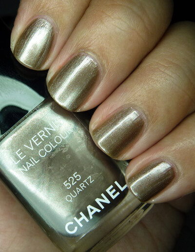 Chanel Quartz - two coats