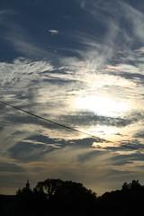 Friday evening sky