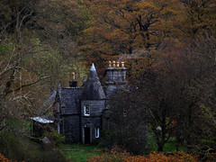 Secret Chateau (quicksilver5001) Tags: castle fairytale rural scotland secret haunted creepy spooky chateau forests glentrool