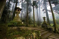 Hakone Fog (jauderho) Tags: original japan canon 日本 5d kanagawa hakone 2007 箱根 神奈川県 1635mm 箱根神社 jauderho hakonejinja japan2007 dopplr:trip=19467