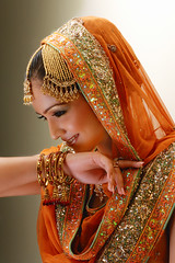 (Fayyaz Ahmed) Tags: pakistan portrait orange topf25 girl fashion bride nikon bridal karachi mywinners superbmasterpiece
