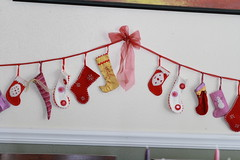advent calendar 2006 (UncommonGrace) Tags: stockings advent calendar garland