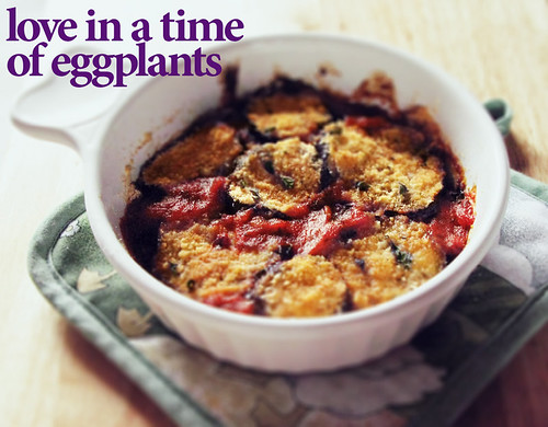 Eggplant Parmigiana (with title)