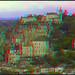 Rocamadour, France in 3D