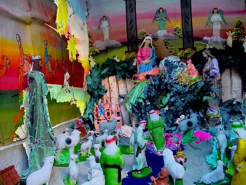 Guatemala Christmas Manger Scene