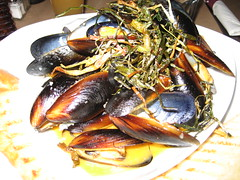 English - mussels