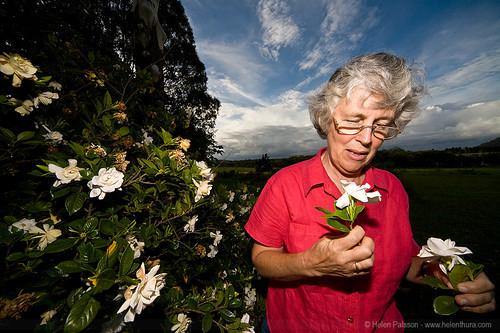 Mum and Gardenias
