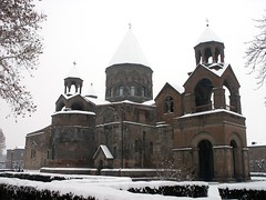 Etchmiadzin - The Main Cathedral of Armenian Orthodoxy (nersess) Tags: armenianorthodoxy armenianorthodox etchmiadzin echmiadzin  armenia armenianchurch cathedral see christianity orthodoxchurch ecumenicalpatriarchate ecumenical patriarchate catholicosate catholicos apostolic apostolorum iglesia catedral orthodox  armenian church snow winter caucasus kathedrale kaukasus kaukaz eglise pontiff pontifical patriarchal