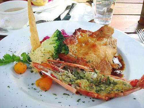 龍蝦海陸大餐
